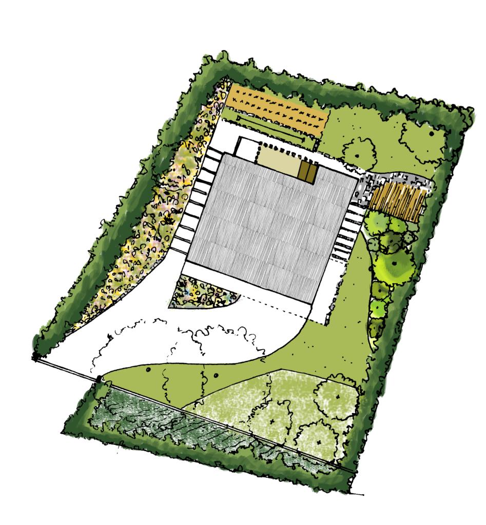 plan masse eve architecte paysagiste